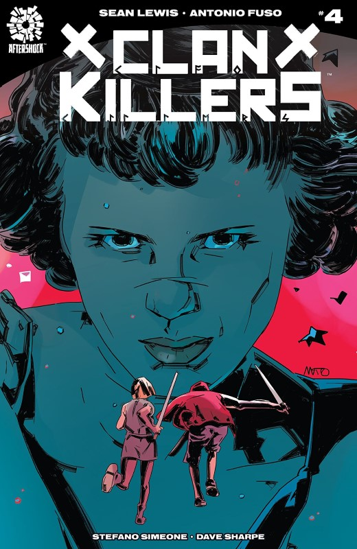 Clankillers #4 cover by Antonio Fuso and Stefano Simeone