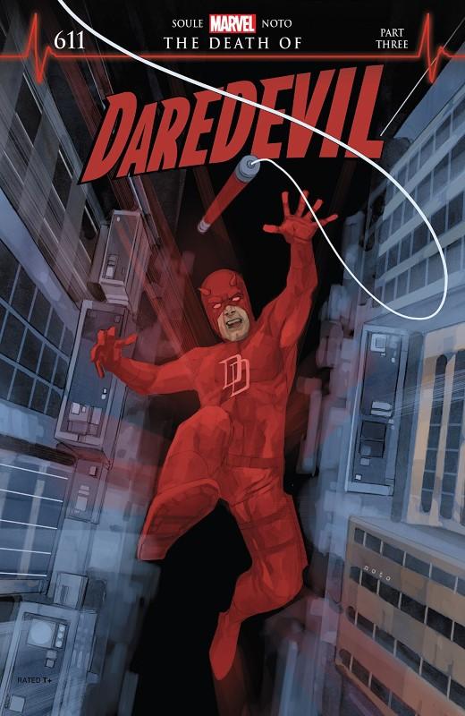 Daredevil #611 cover by Phil Noto