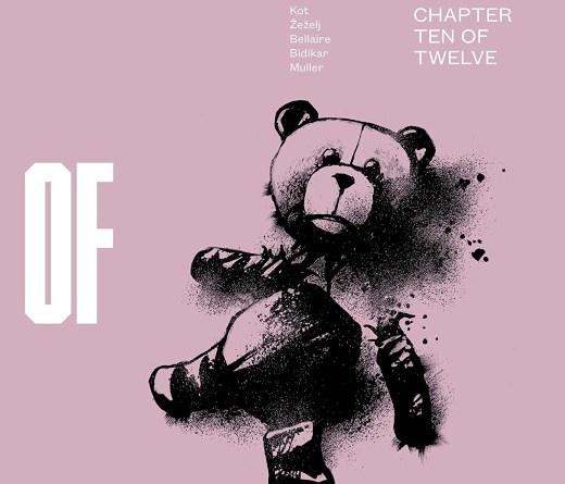 Days of Hate #10 cover by Danijel Zezelj