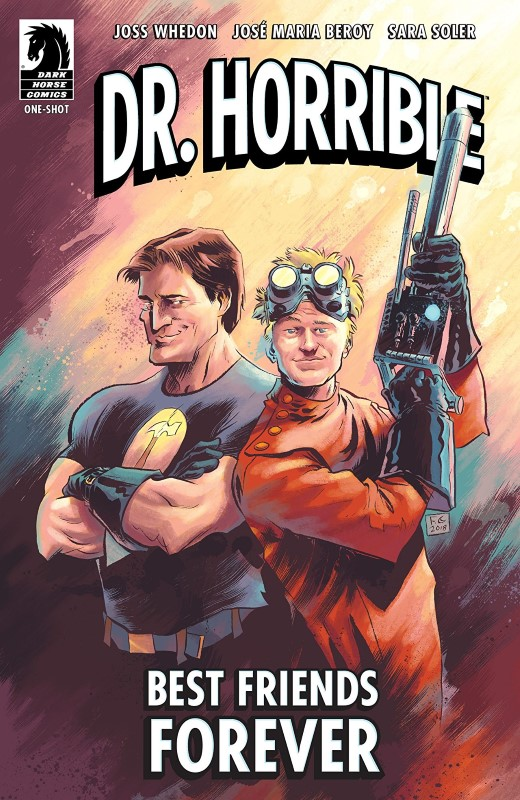 Dr. Horrible Best Friends Forever cover by Fabio Moon