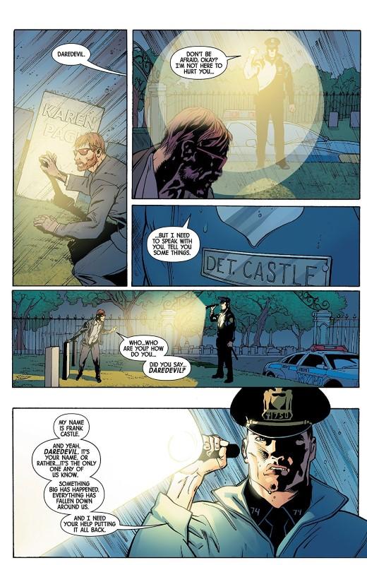 Marvel Knights 20th #1 art by Travel Foreman, Derek Fridolfs, Matt Milla, and letterer VC's Cory Petit