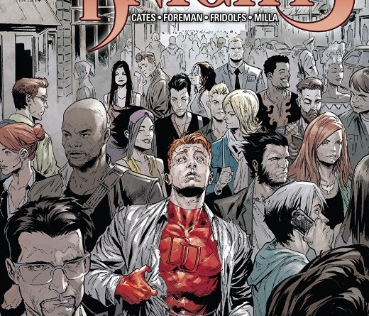 Marvel Knights 20th #1 cover by Geoff Shaw and Rain Beredo