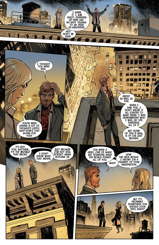 Marvel Knights #2 art by Niko Henrichon and letterer VC's Cory Petit