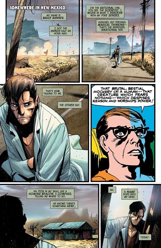 The Best Defense: Immortal Hulk #1 art by Simone di Meo, Dono Sanchez-Almara, and letterer VC's Cory Petit