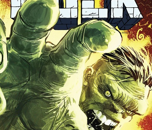 The Best Defense: Immortal Hulk #1 cover by Ron Garney and Richard Isanove