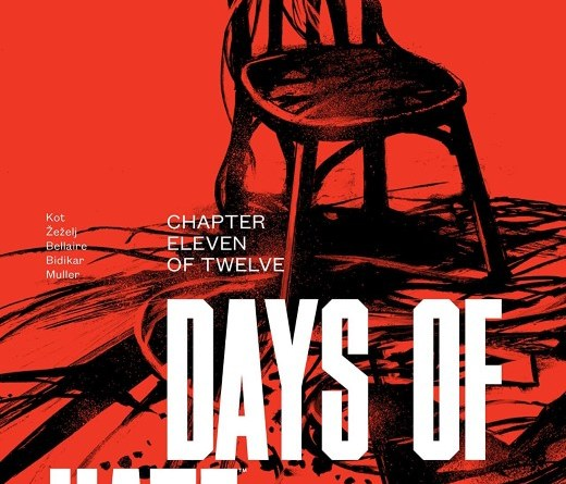 Days of Hate #11 cover by Danijel Zezelj