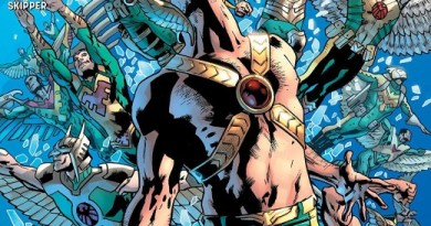 Hawkman #7 cover by Bryan Hitch and Alex Sinclair