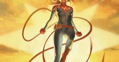 The Life of Captain Marvel #5 cover by Julian Totino Tedesco
