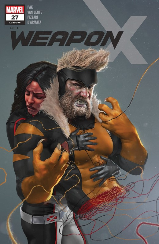 Weapon X #27 cover by Rahzzah