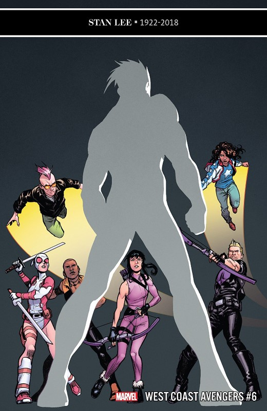 West Coast Avengers #6 cover by Stefano Caselli and Nolan Woodard