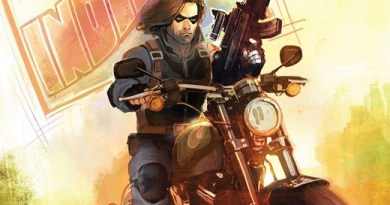 The Winter Soldier #1 cover by Rod Reis