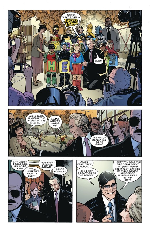 Action Comics #1006 art by Ryan Sook, Brad Anderson, and letterer Josh Reed