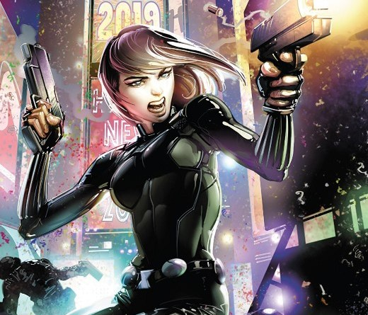Black Widow #1 cover by Clayton Crain