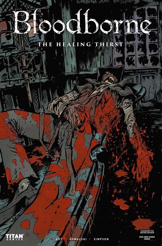 Bloodborne #8 cover by Daniel Warren Johnson