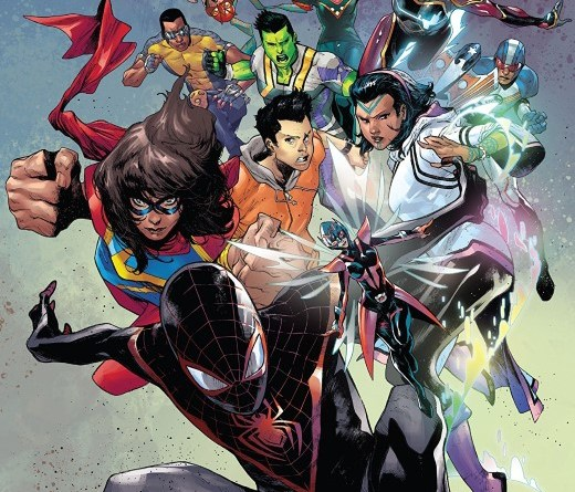 The Champions #1 cover by Kim Jacinto and Rain Beredo