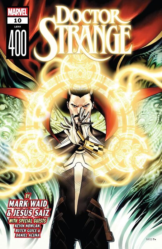 Doctor Strange #400 cover by Jesus Saiz
