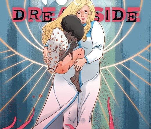 Faith Dreamside #4 cover by Marguerite Sauvage