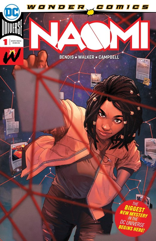Naomi #1 cover by Jamal Campbell