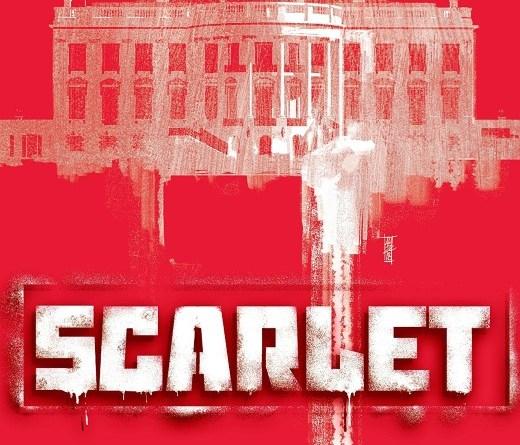 Scarlet #5 cover by Alex Maleev