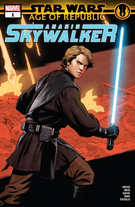 Star Wars Age of Republic: Anakin Skywalker #1 cover by Paolo Rivera