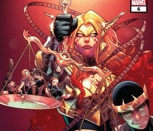 Asgardians of the Galaxy #6 cover by Jamal Campbell