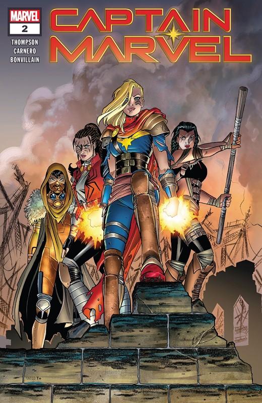 Captain Marvel Versus The Apocalypse In Captain Marvel #2