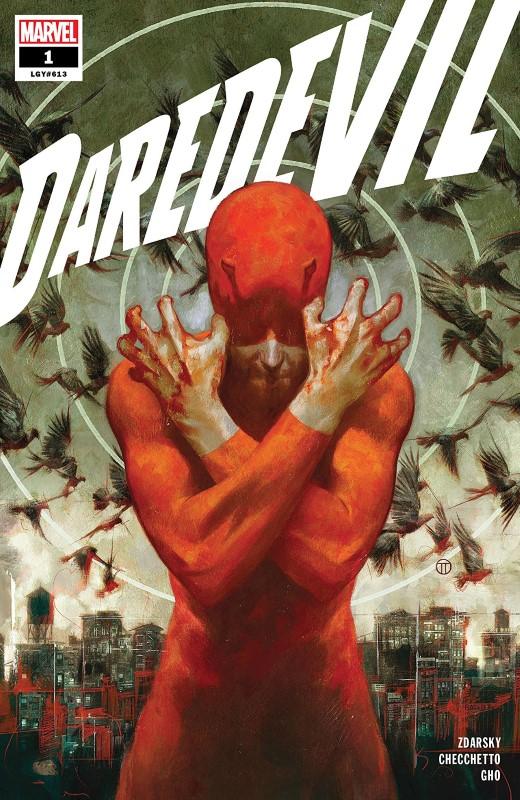 Daredevil #1 cover by Julian Totino Tedesco
