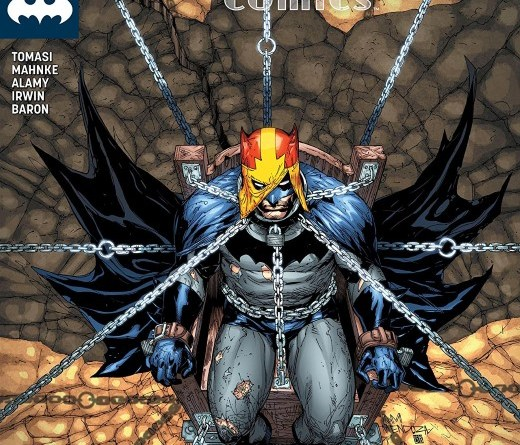 Detective Comics #997 cover by Doug Mahnke, Jaime Mendoza, and David Baron