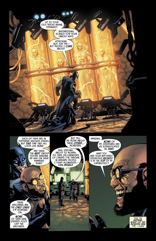 Detective Comics #998 art by Doug Mahnke, Jaime Mendoza, Mark Irwin, David Baron, and letterer Rob Leigh
