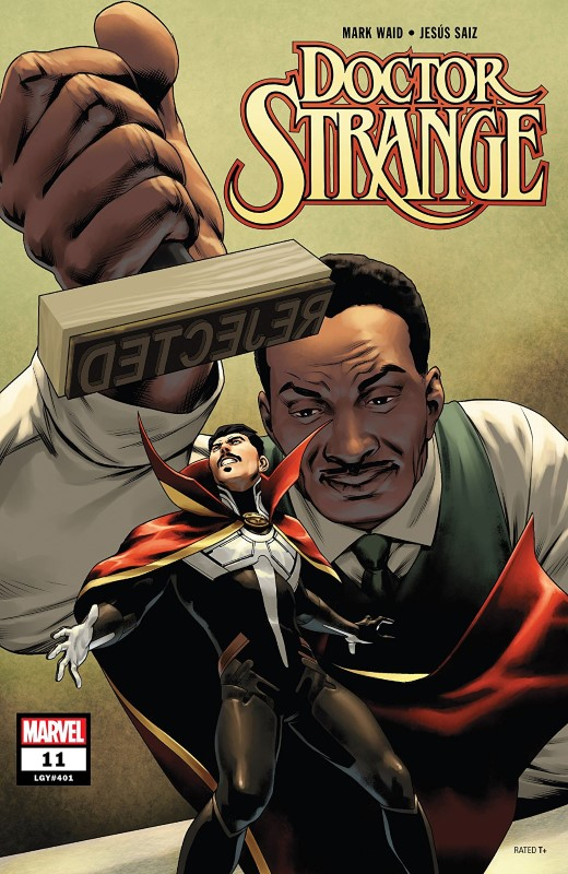 Doctor Strange #11 cover by Jesus Saiz