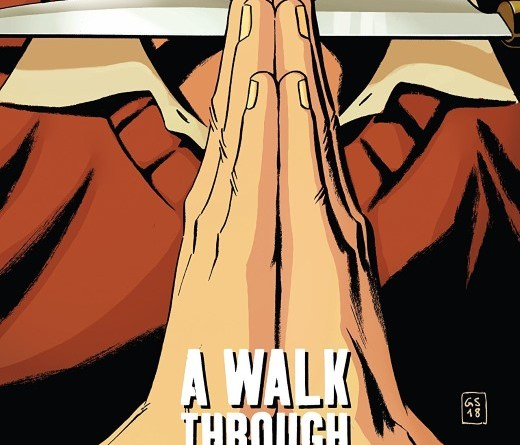 A Walk Through Hell #8 cover by Goran Sudzuka and Ive Svorcina