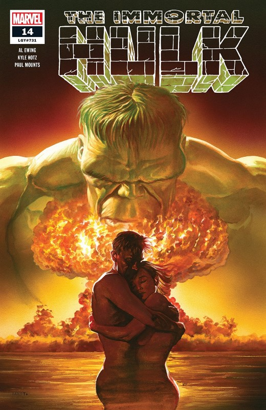 The Immortal Hulk #14 cover by Alex Ross