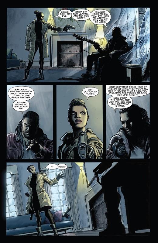 Killmonger #5 art by Juan Ferreyra, Eduardo Ferreyra, and letterer VC's Joe Sabino