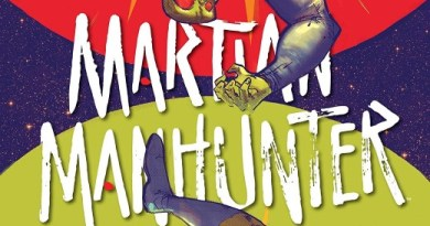 Martian Manhunter #3 cover by Riley Rossmo