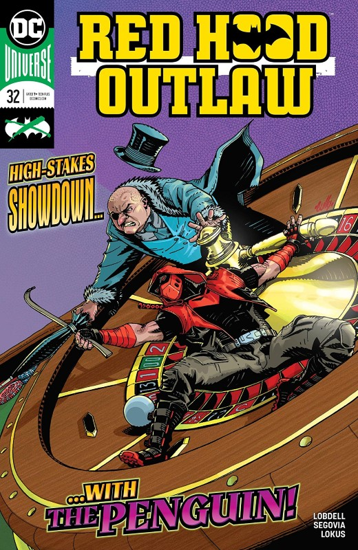 Red Hood: Outlaw #32 cover by Cully Hammer