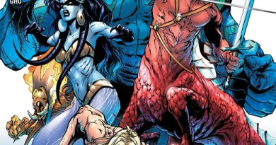 Aquaman #47 cover by Robson Rocha, Daniel Henriques, and Alex Sinclair
