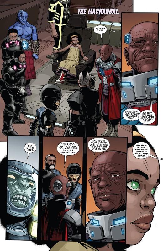 Black Panther #11 art by Kev Walker, Marc Deering, Java Tartaglia, and letterer VC's Joe Sabino