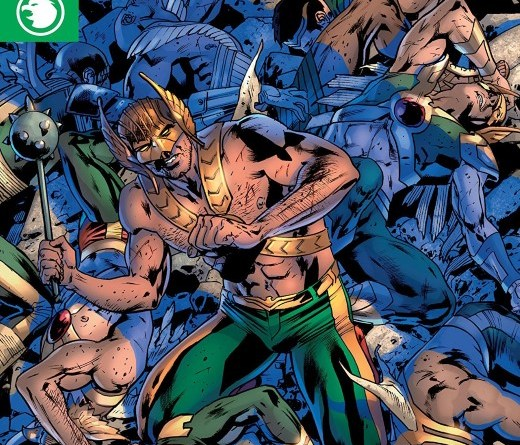 Hawkman #11 cover by Bryan Hitch and Alex Sinclair