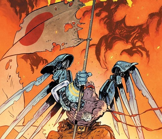 Murder Falcon #7 cover by Daniel Warren Johnson