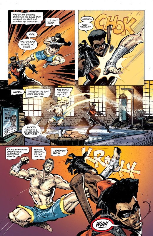 Nightwing #59 art by Chris Mooneyham, Nick Filardi, and letters from Andworld Design