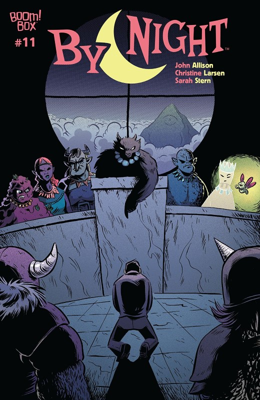 By Night #11 cover by Christine Larsen