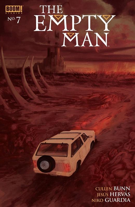 Empty Man #7 cover by Vanesa R. Del Rey