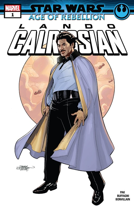 Star Wars Age of Rebellion: Lando Calrissian #1 cover by Terry and Rachel Dodson