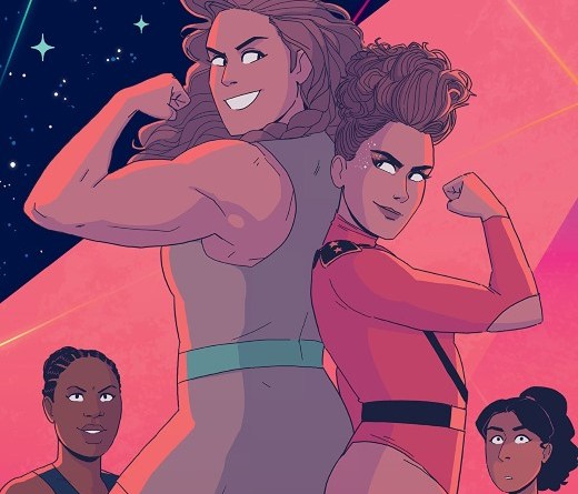 GLOW #3 cover by Hannah Templer