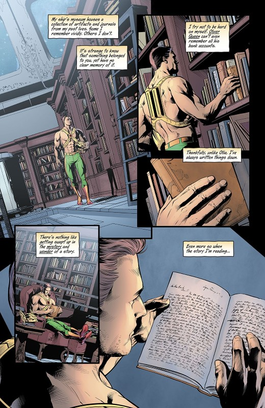 Hawkman #13 art by Will Conrad and Jeremiah Skipper with letters from Richard Starkings and Comicraft