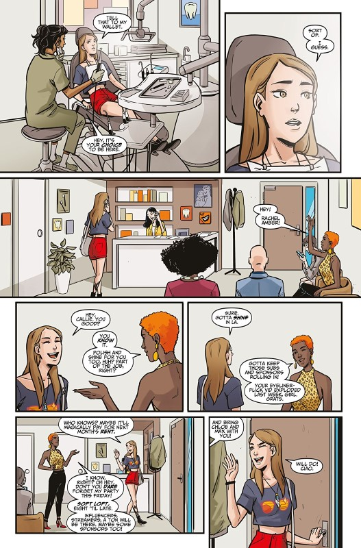 Life is Strange #6 art by Claudia Leonardi and Andrea Izzo with letters from Richard Starkings and Comicraft's Jimmy Betancourt