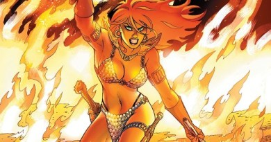 Red Sonja #5 cover by Amanda Conner and Paul Mounts