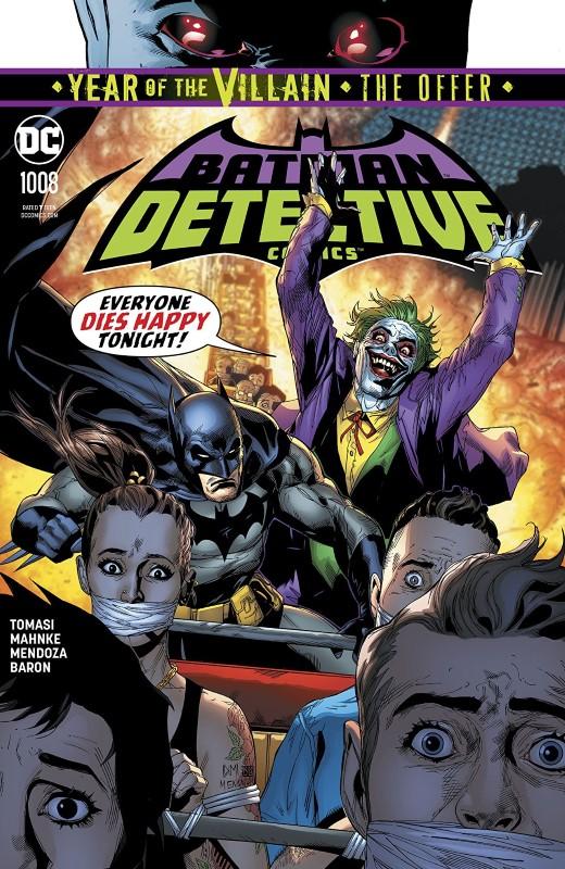 Detective Comics #1008 cover by Doug Mahnke, Jaime Mendoza, and Dave Baron