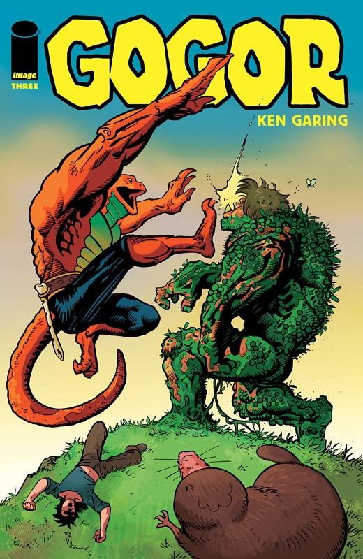 Gogor #3 cover by Ken Garing