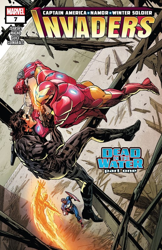 Invaders #7 cover by Butch Guice and Romulo Fajardo Jr.